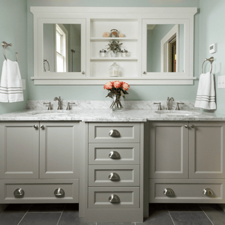 Solid Wood Shaker Bathroom Vanity