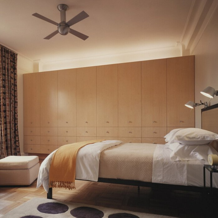 Custom High End Melamine PVC Bedroom Cabinets Wardrobe