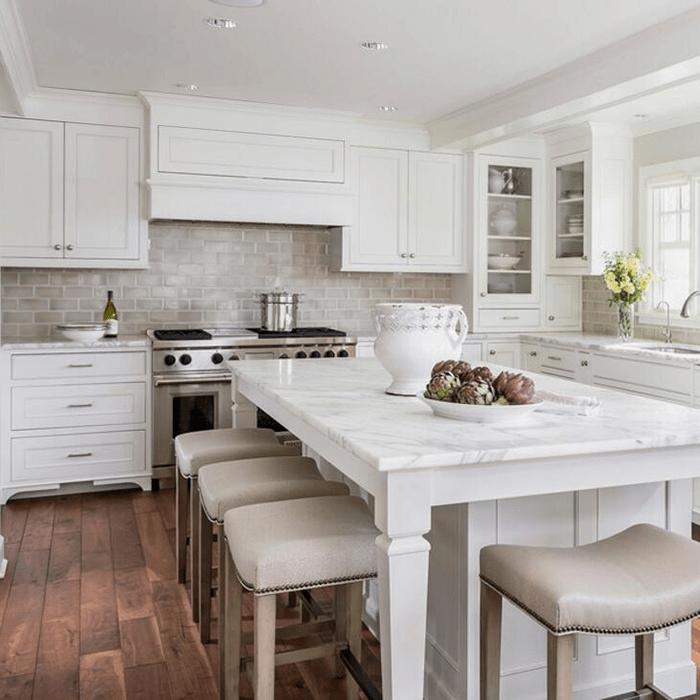 Australia Style Solid Wood Custom Kitchen Cabinets